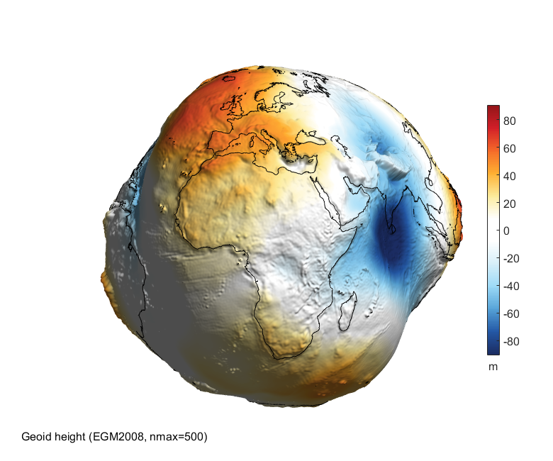 ASU – MATLAB script for 3D visualizing geodata on a rotating globe